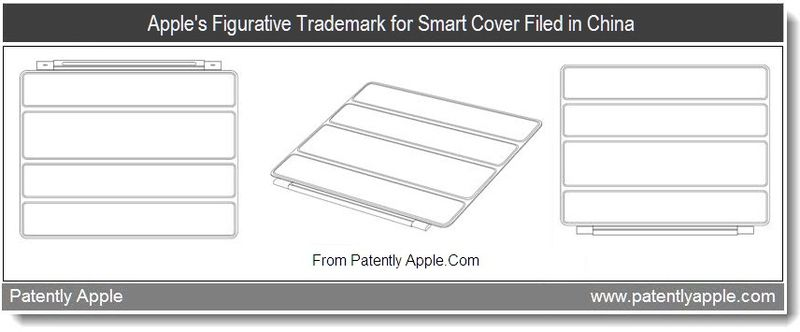 2 - Apple's Figurative Trademark for smart cover filed in china, aug 2011, Patently Apple