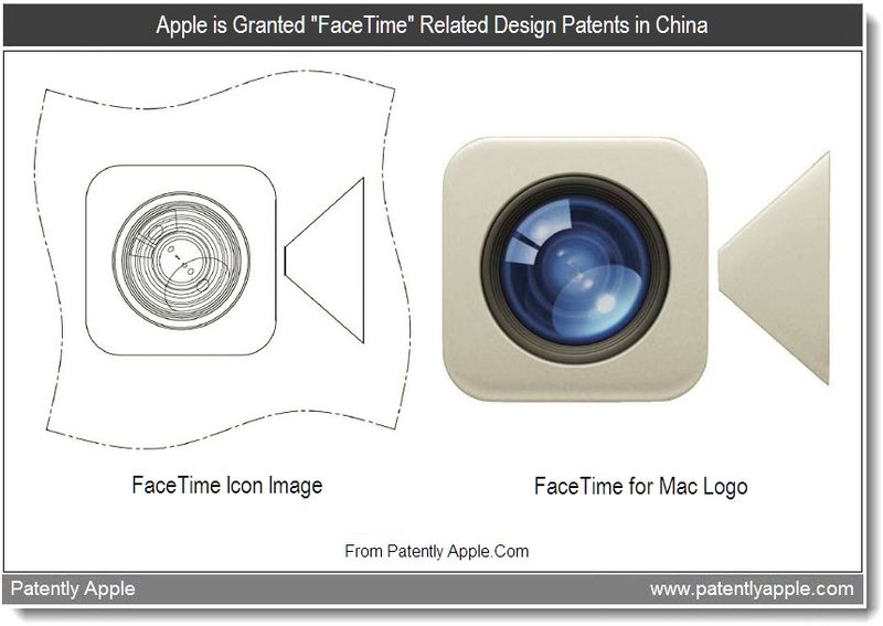 2 - Apple is granted FaceTime Related Design Patents in China, Aug 2011, Patently Apple