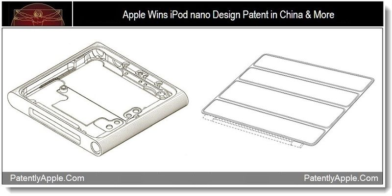 1C - Apple Wins iPod nano Design Patent in China & More, Sept 2011, Patently Apple Blog - Copy