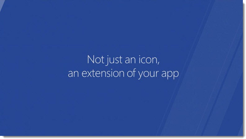 5 - Tiles, not just an icon, an extension of your app, Build Event 2011, Patently Apple
