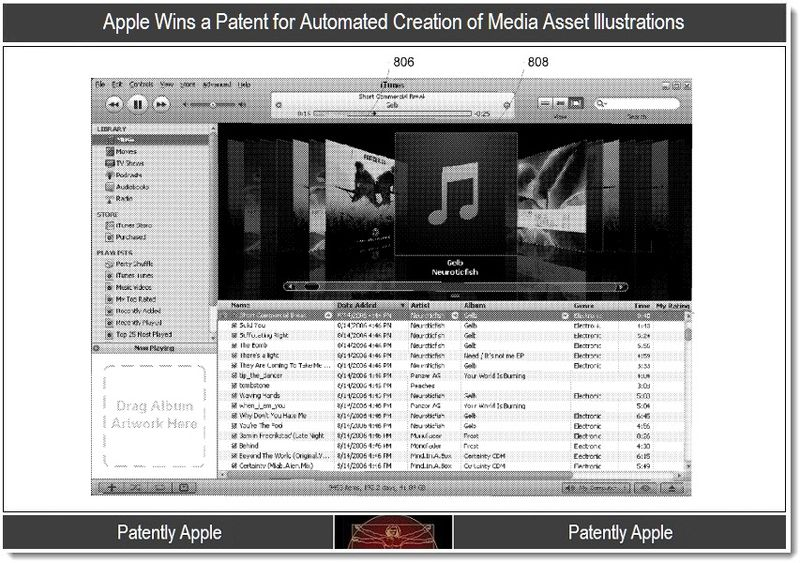 4 - Apple wins a patent for automated creation of media asset illustrattions, Patently Apple Blog