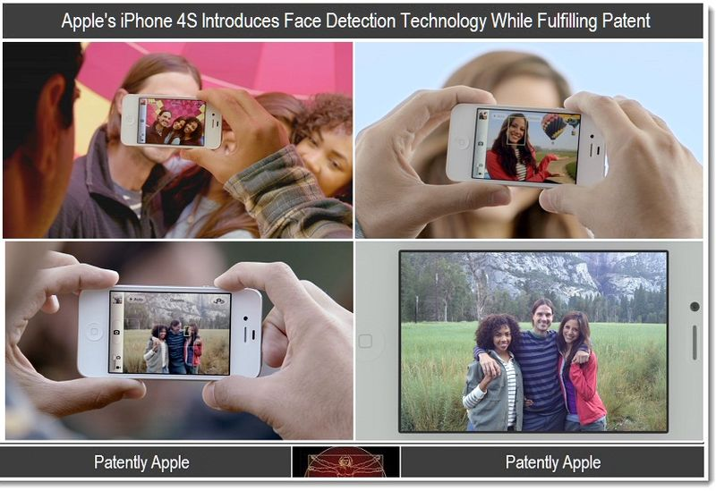 3 - iPhone 4S intros Face Detection
