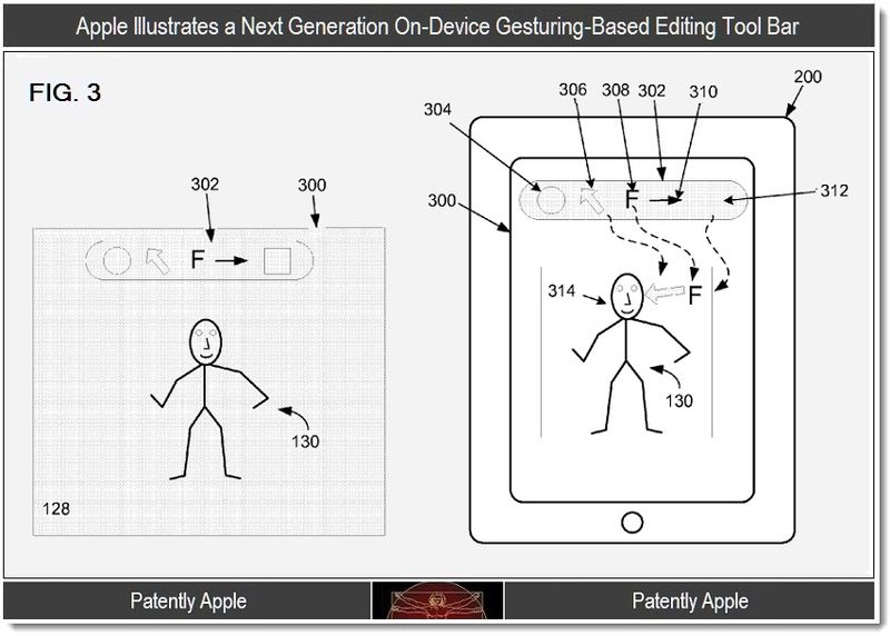 3 - Apple, Next Gen gesturing tool bar