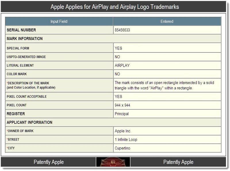 2 - Airplay logo TM application