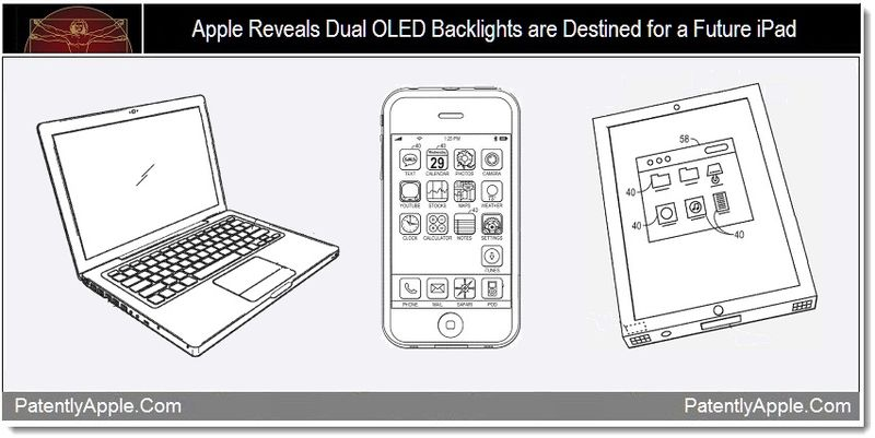 1 - Apple Reveals Dual OLED Backlights are Destined for a Future iPad