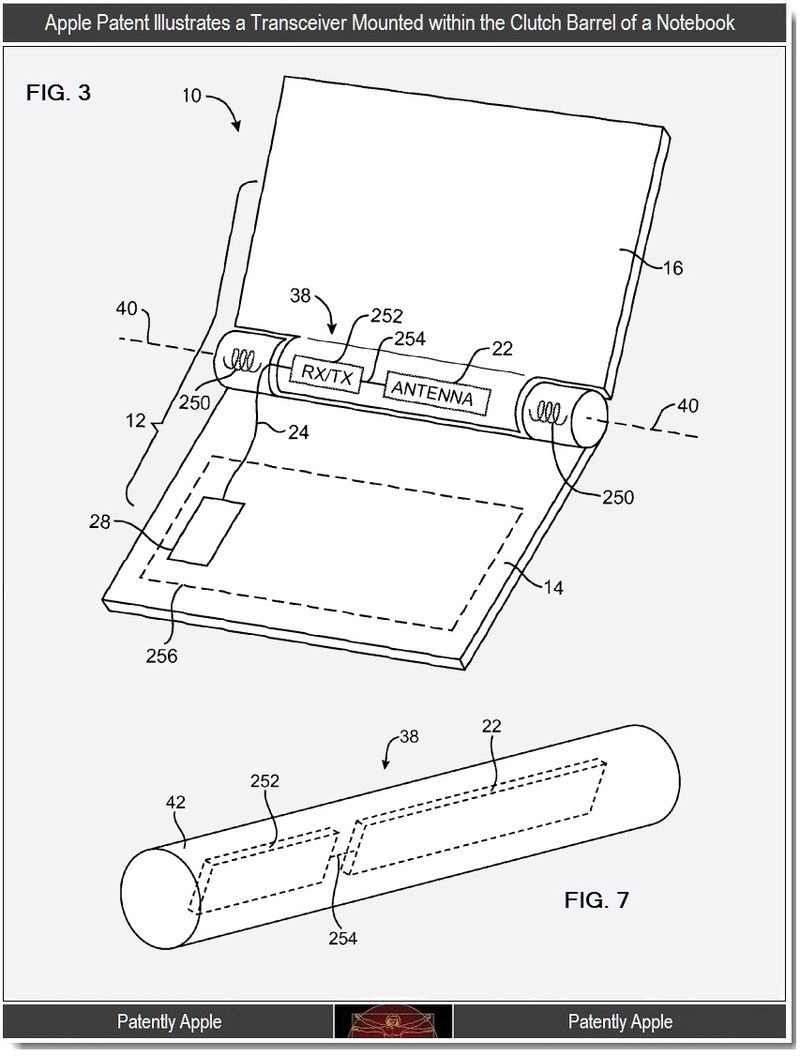 Apple Wins Patent For Telephonic Macbook With Rotatable