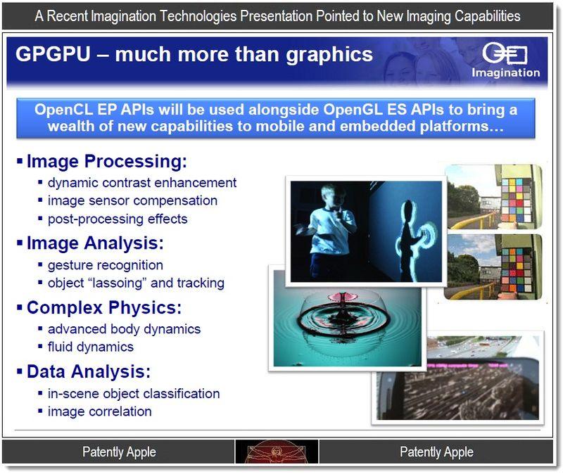 6 - An  Imagination Technologies slide on imaging