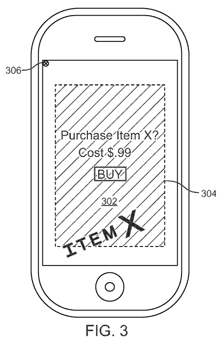 Extra - from patent application 20110307385, Apple talks up ad technique