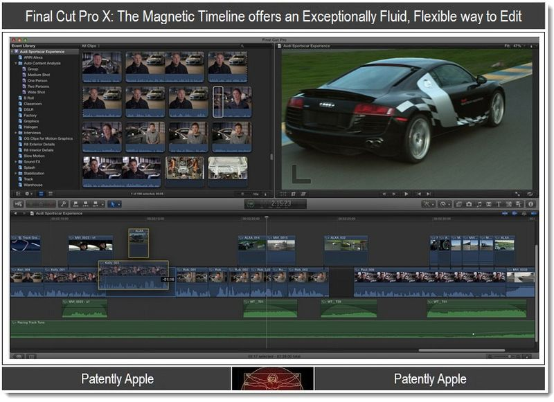 3 - Screenshot of Magnetic Timeline from Apple