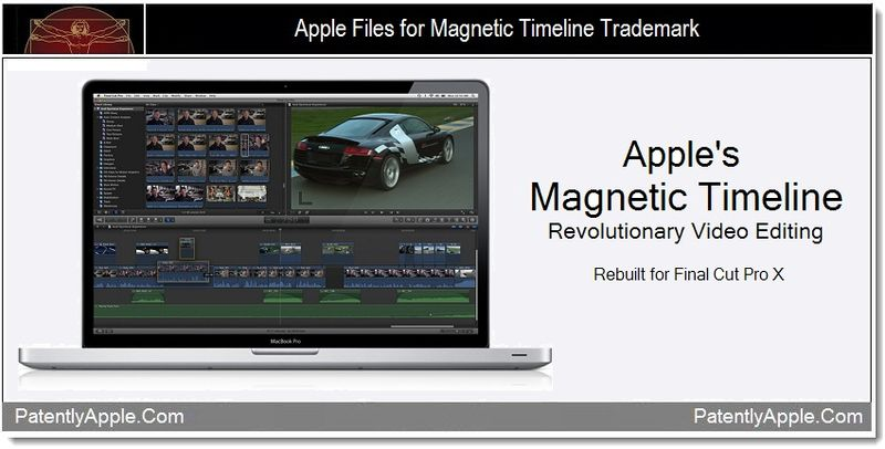 1 - Apple files for Magnetic Timeline TM