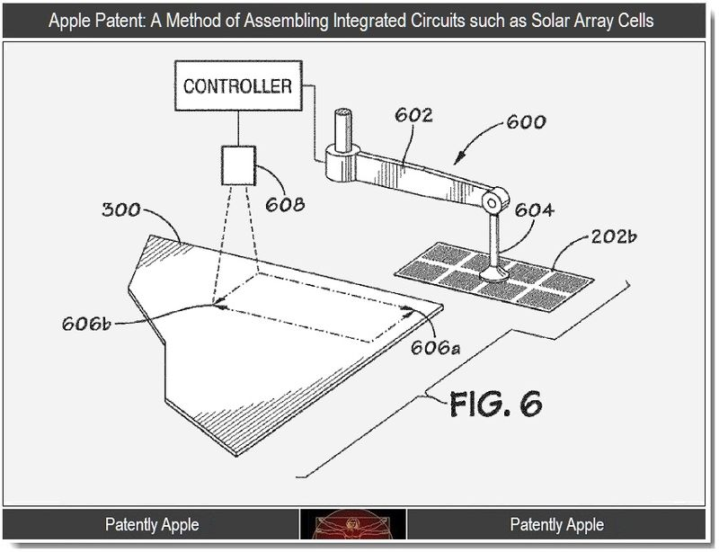 2 - Apple Wins patents re solar cell assembly method, oct 2011