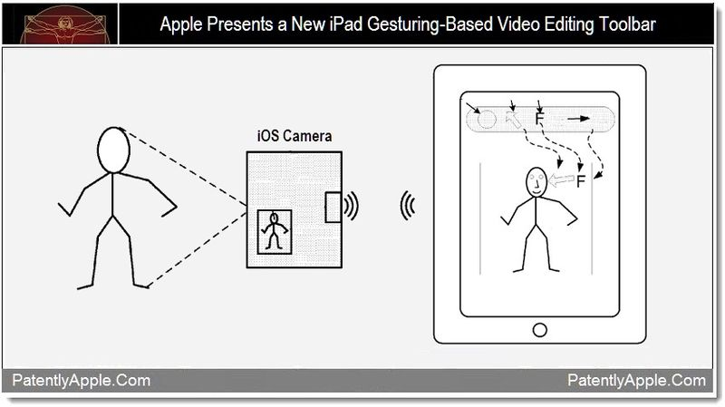 1BB - Apple presents a new gesturing-based video editing toolbar for iPad