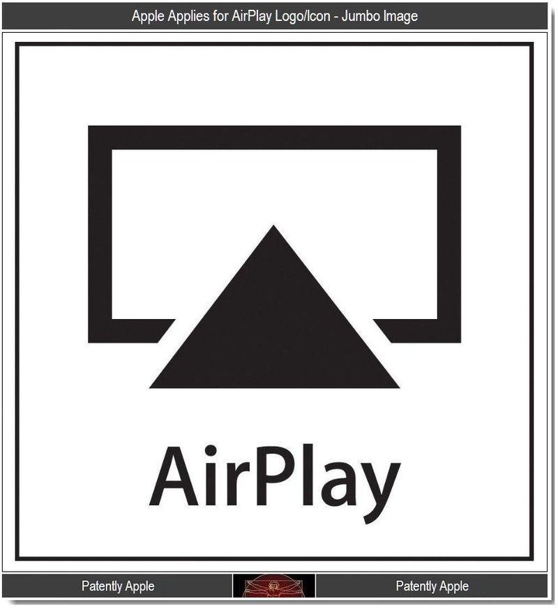 3 - Apple's AirPlay Jumbo Logo - Icon