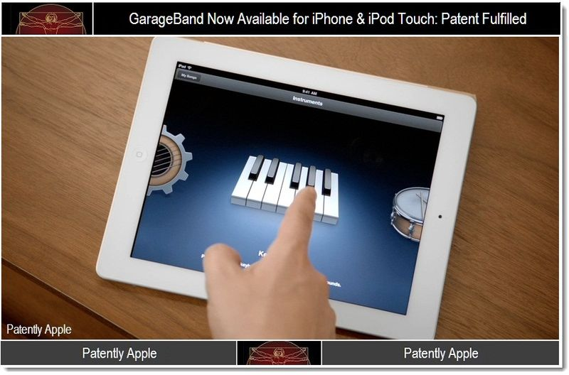 1 - Garageband now Available for iPhone & iPod Touch - Patent Fulfilled