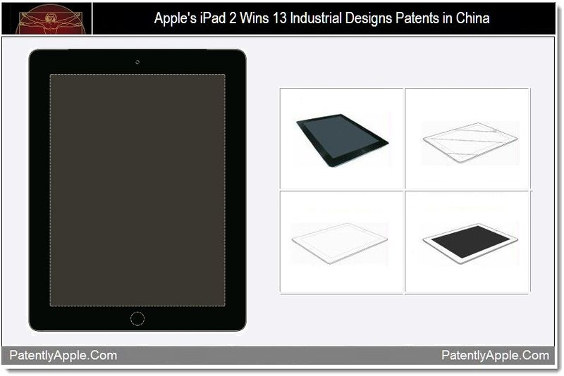 1 - Apple wins 13 industrial design wins for iPad 2 in China