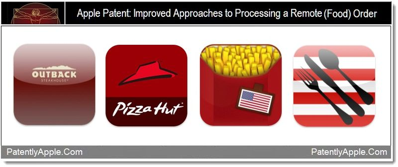 2 - Apple patent, improved approaches to processing remote food orders +
