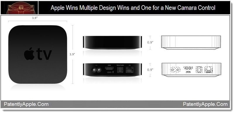 1 - Apple Wins Multiple Design Wins and One for a New Camera Control