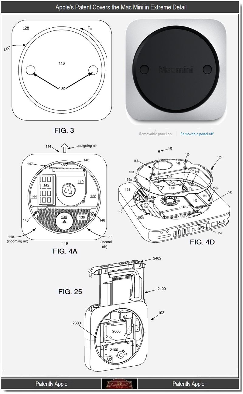 3 - Apple's Mac Mini Patent in Extreme Detail - 2