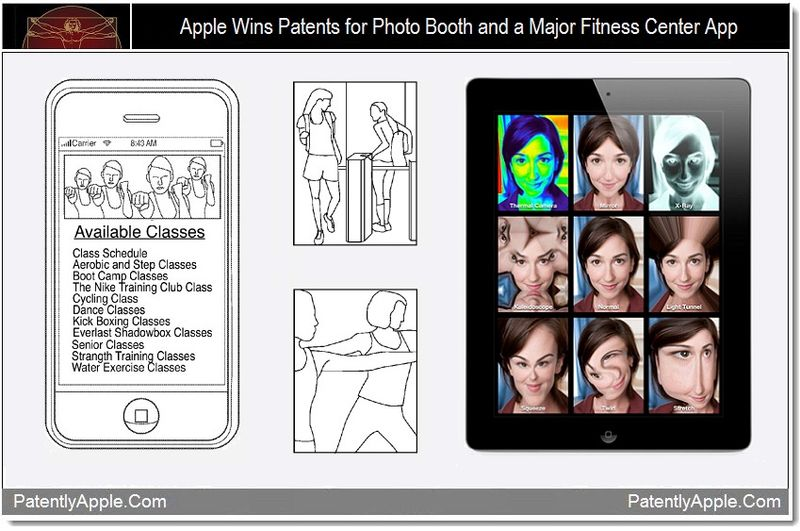 1 - Apple Wins Patents for Photo Booth and a Major Fitness Center App