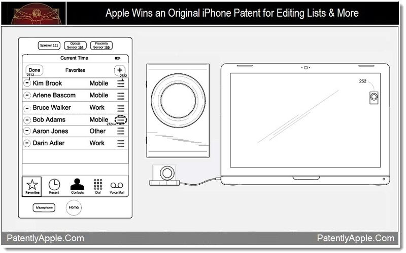 1 - Apple Wins an Original iPhone Patent for Editing Lists & More