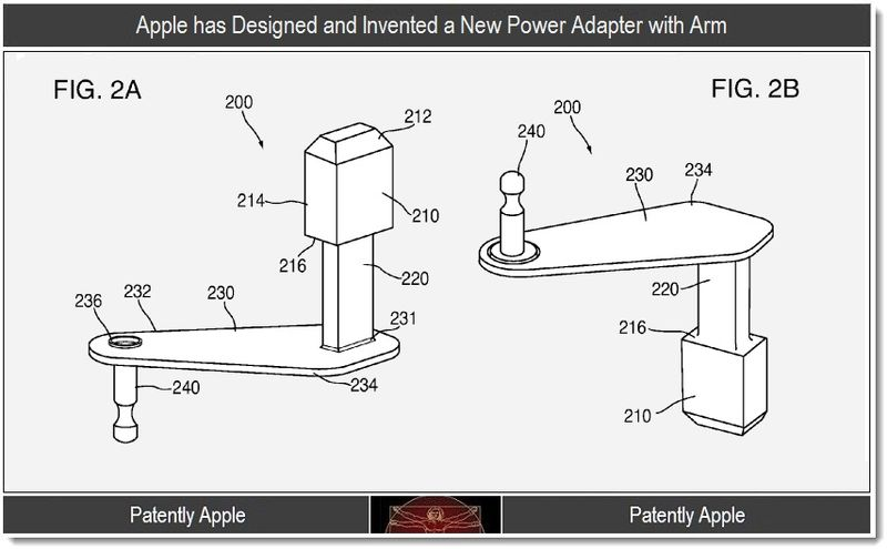 Extra - Apple, Power Adapter with Arm