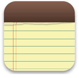 5 - Apple Design patent win for Notes Icon, Jan 2012
