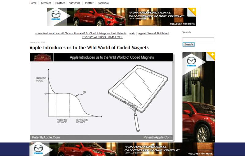 New Interactive Mazda Ad