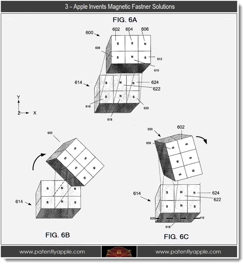 4 - Apple invents magnetic fastner solutions - 3