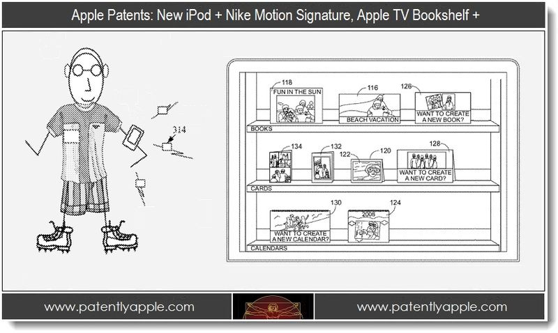 1 - Apple patents, Nike Motion Signature, Apple TV Bookshelf +