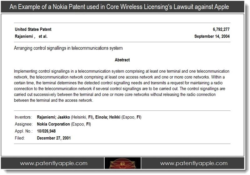 2 - example of a nokia patent used in core wireless licensing lawsuit against Apple