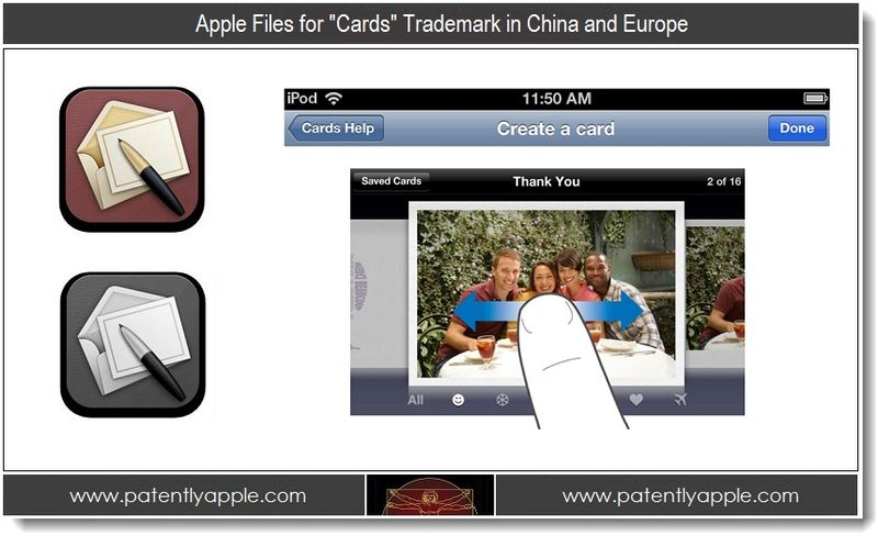 1 - Apple Files for Cards TM in China and Europe