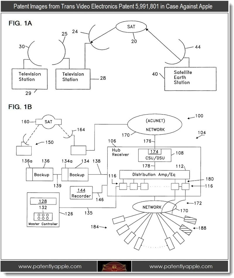 3 - trans video electronics patent images in case against Apple