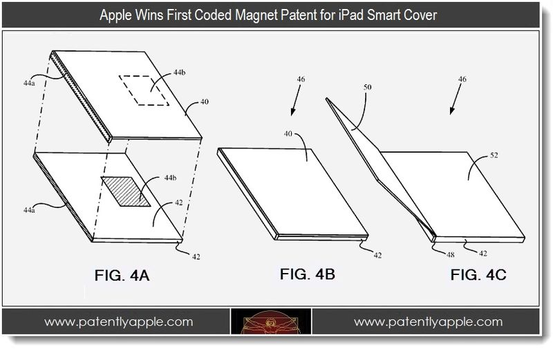 4 - Apple wins first coded magnet patent for iPad Smart Cover, 4