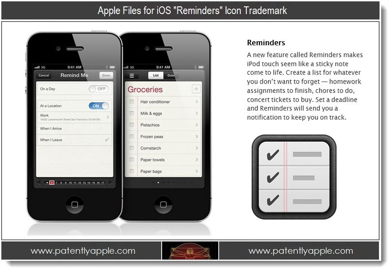 1 - Apple Files for iOS Reminders Icon Trademark