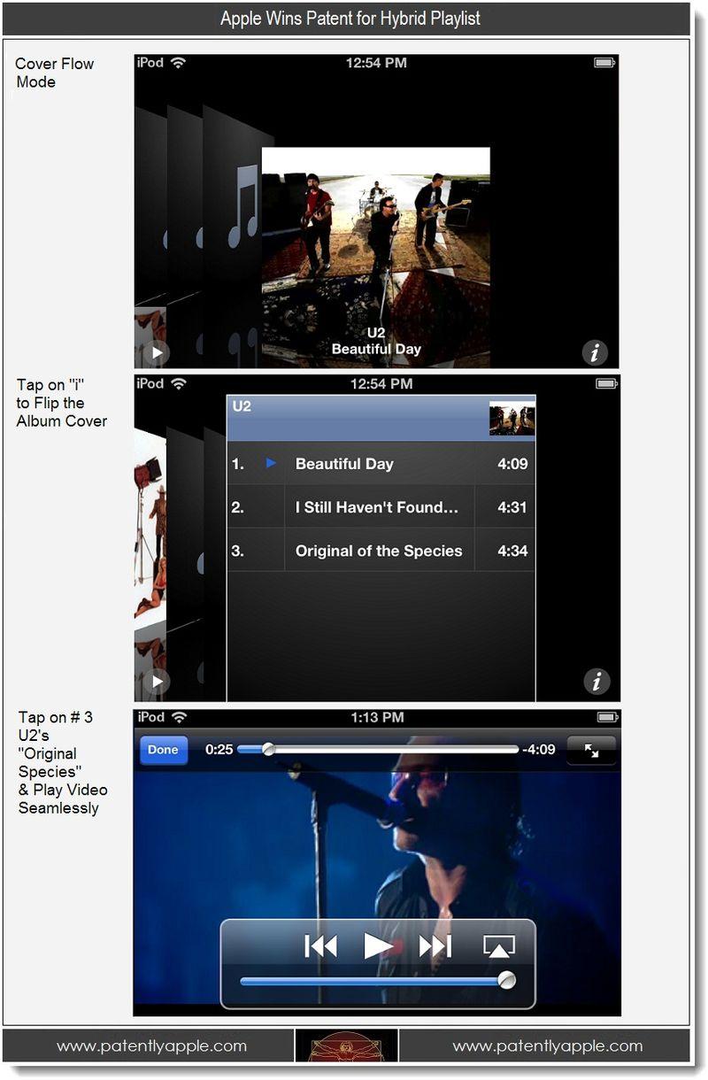 6 - 2 - Apple wins hybrid playlist patent - screenshot example