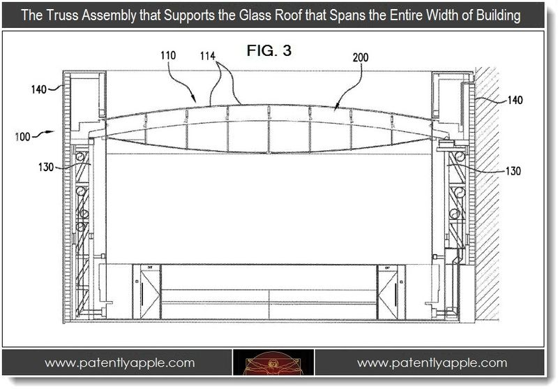 3 - Apple Store Patent FIG. 3 - Truss Assembly that supports the glass roof