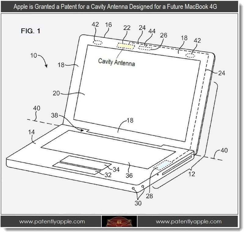 2 - Apple wins patent for Cavity Antenna