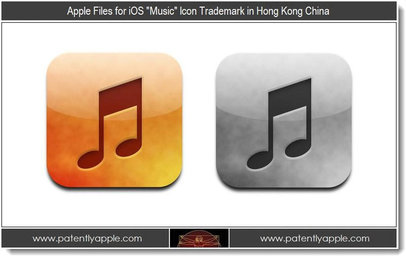 Extra - Apple Files for iOS Music Icon Trademark in China