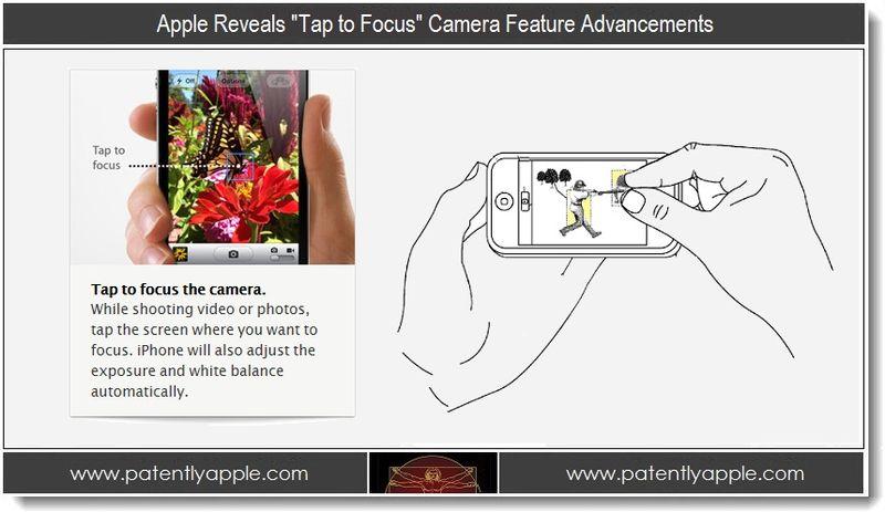 1. Apple Reveals Tap to Focus Camera Feature Advancements