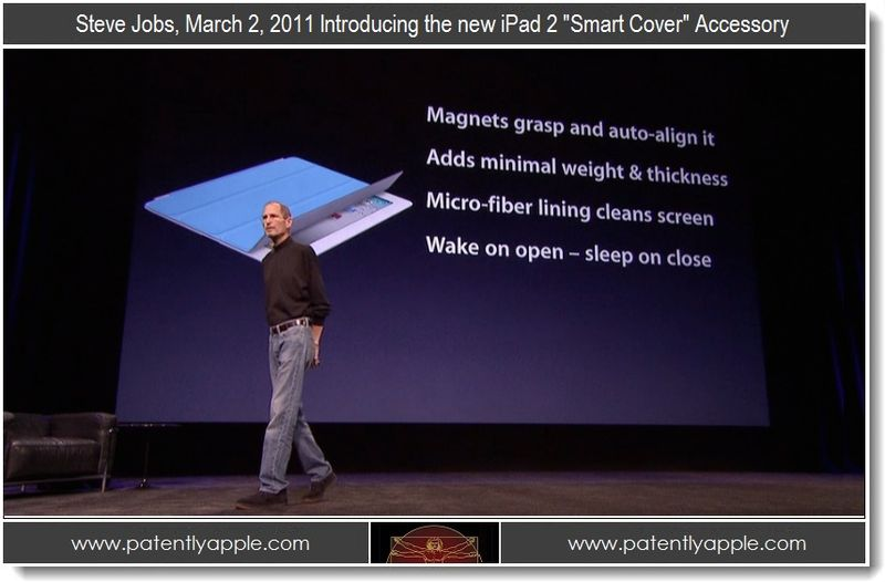 4. Steve Jobs, March 02, 2011 Introducing the new iPad 2 Smart Cover Accessory