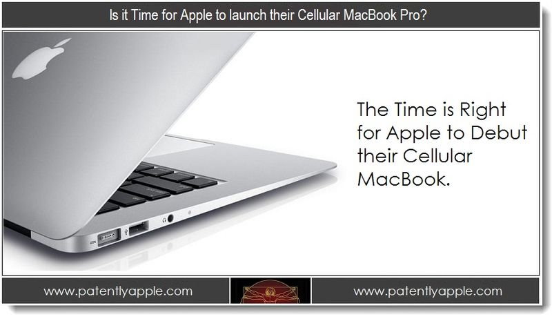 1. Is it Time for Apple to launch their Cellular MacBook Pro