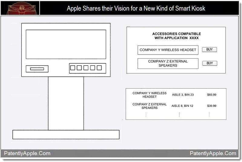 1 - Apple shares their vision for a new kind of smart kiosk