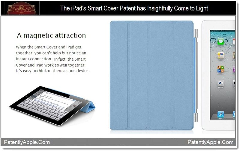 1 - Cover - The iPad's Smart Cover Patent has Insightfully Come to Light