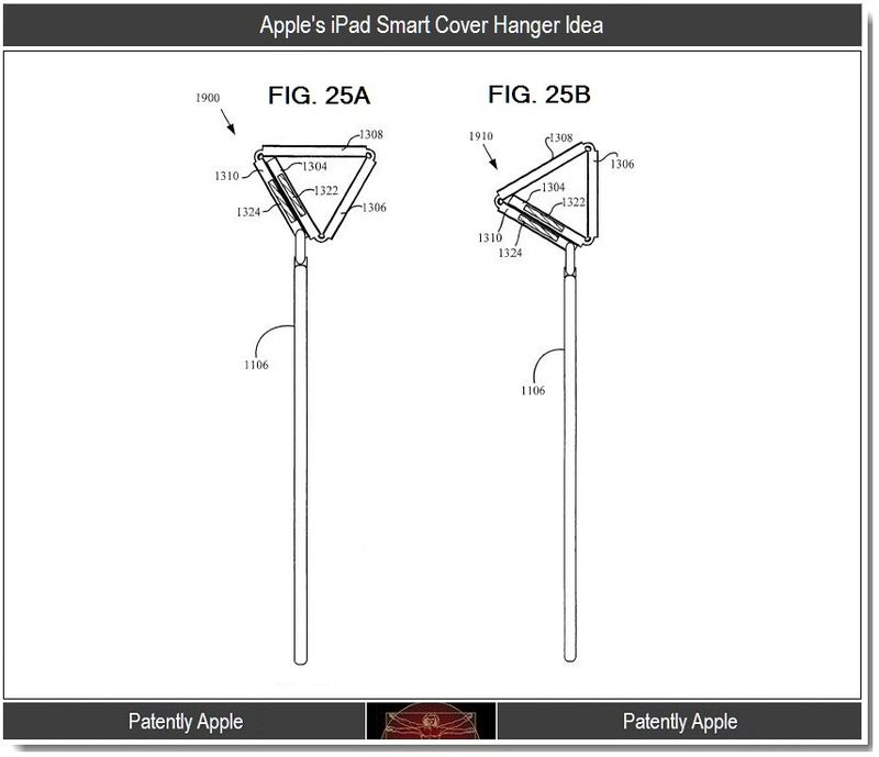 3 - Apple's iPad Smart Cover Hanger Idea