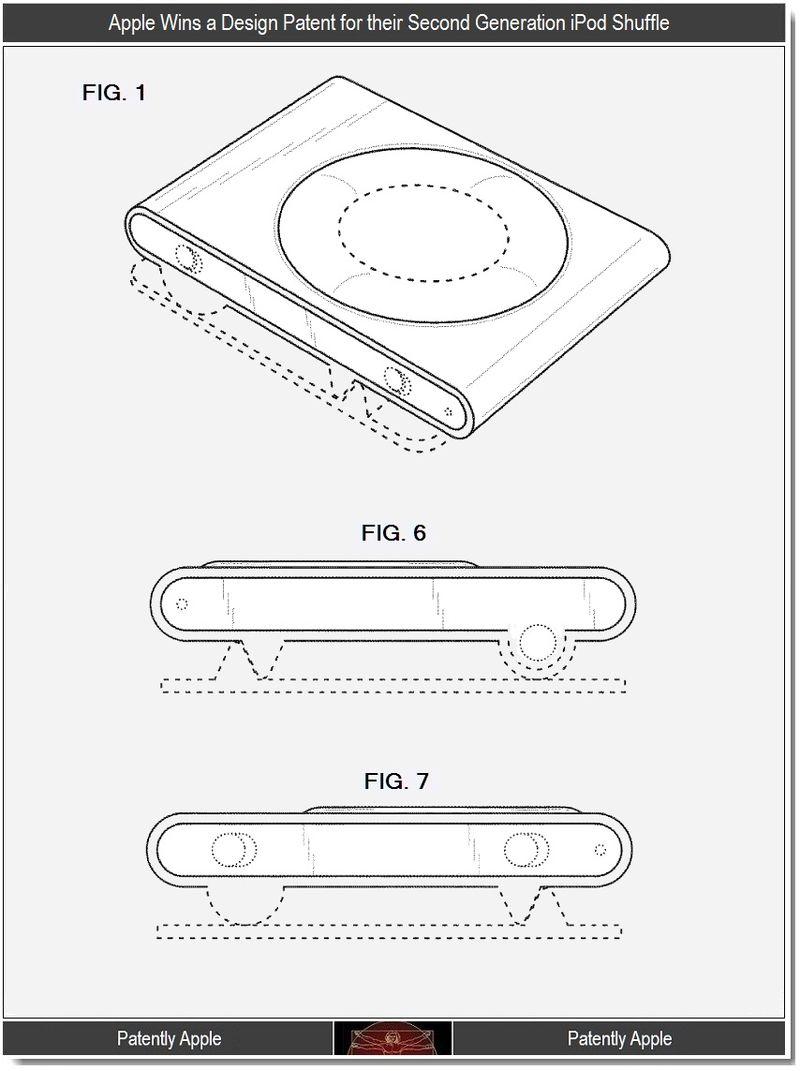 5 - Apple, Design Win, 2nd gen iPod Shuffle, 2011, Steve Jobs