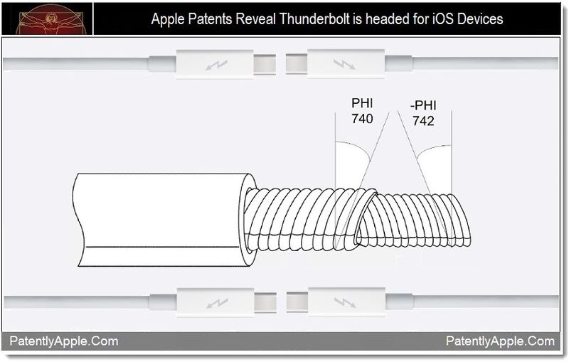 1.1 - Thunderbolt headed for iOS Devices, Apple Patent