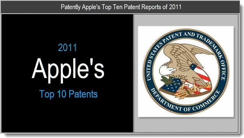 1 - Apple's Top 10  Patents for 2012
