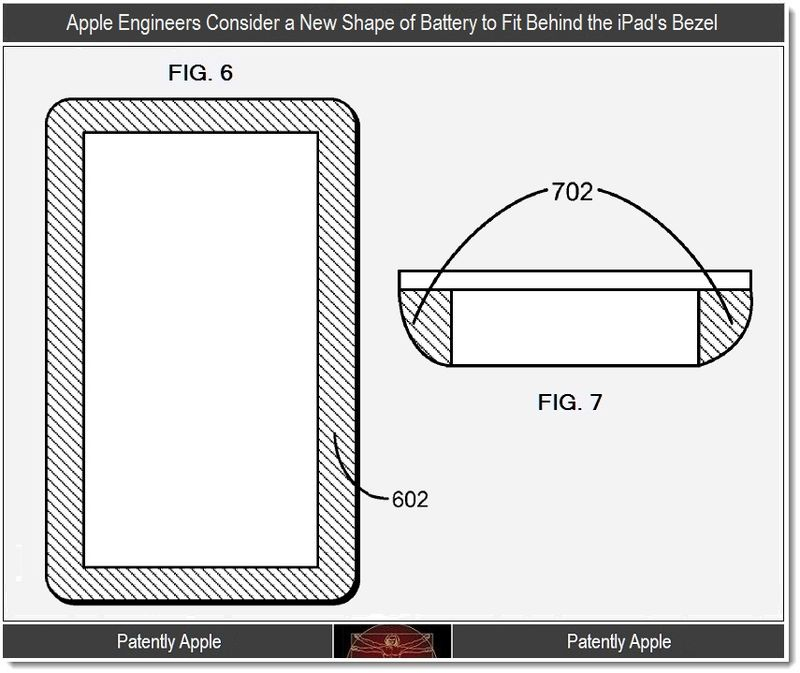 4 - New iPad Battery design being considered, Apple patent 2012