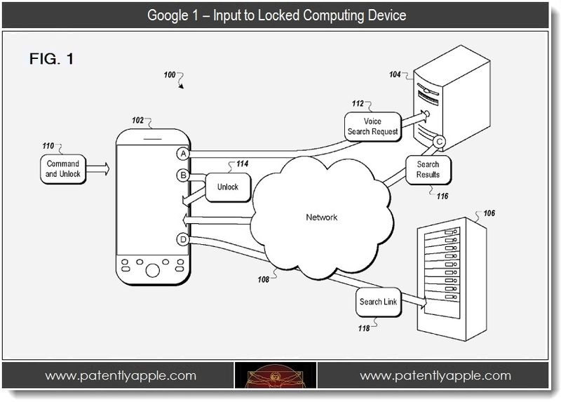 2 - 1 - Google - Input to locked Computing Device