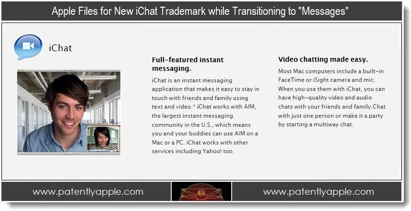 1 - Apple - new ichat TM while transitioning to Messages